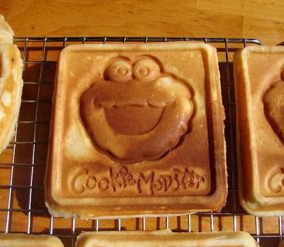 cookie monster waffle maker