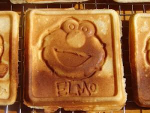 elmo waffle maker