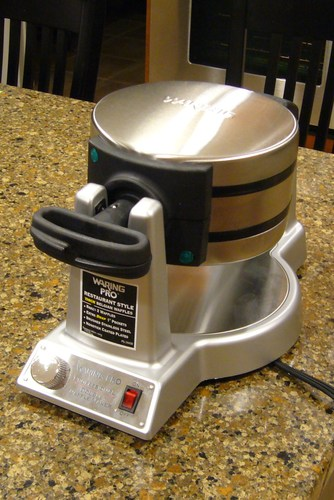 waring belgian waffle maker instructions
