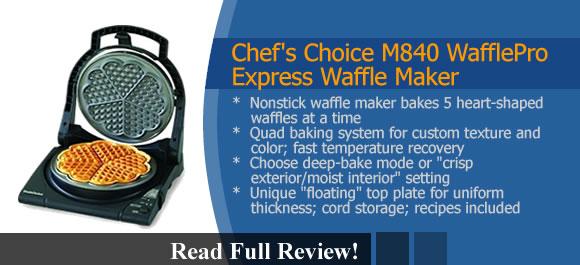Chef's Choice M840 WafflePro Express Waffle Maker