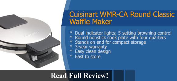 Cuisinart Round Classic Waffle Maker Reviews