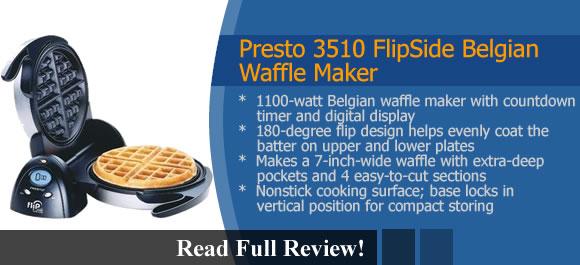 Presto 3510 FlipSide Belgian Waffle Maker