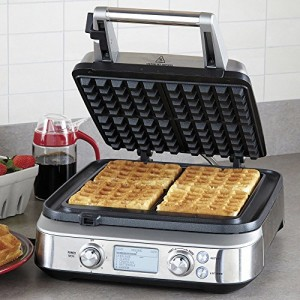 Breville-Smart-Waffle-Pro-Stainless-Steel-4-Slice-Waffle-Maker-0