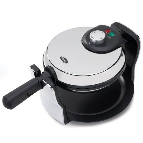 Oster-3874-Flip-Nonstick-Belgian-Waffle-Maker-ChromeBlack-0
