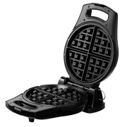 VonShef-Flip-4-Slice-Rotating-Round-Belgian-Waffle-Maker-Stainless-Steel-0-2